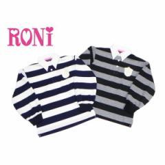 RONI ロニィ ロニー 子供服 18春 ボーダーラガーシャツ r1376320106189