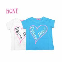 RONI ロニィ ロニー 子供服 18春夏 BIGハートプリントTシャツ r1383212702271