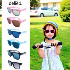 ベビー用 キッズ用 サングラス 赤ちゃん用 子供用 紫外線対策 UV DELIEB ULURU キッズサイズ ウェリントン 眼鏡 オシャレ ミラーレンズ