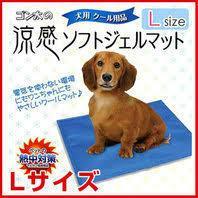 マルカン 涼感ソフトジェルマット L 犬猫用 ♪