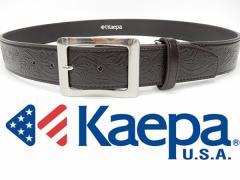 Kaepa ケイパ カジュアルベルト チョコ茶 100cmまで対応 メンズ KP402