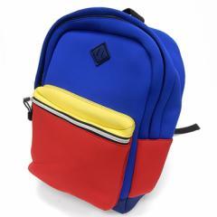 ◇リュック◇デイバッグ ウェットスーツ素材 赤×青×紺×黄 男女兼用