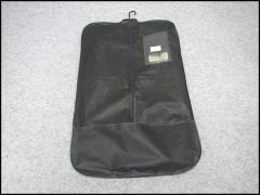 ◆テーラーバッグ◆ガーメントバッグ◆黒◆不織布◆スーツ持ち運び◆ハンガーなし◆洋服カバー