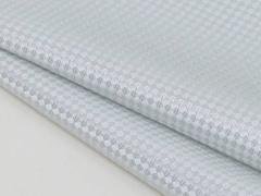 ◆日本製◆ポケットチーフ◇バスケット シルク100% ◇ジャガード織◇シルバー メール便可