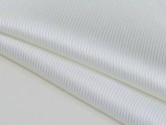 ◆日本製◆ポケットチーフ ◇フランス綾 シルク100% ◇ジャガード織◇ホワイト(白) メール便可
