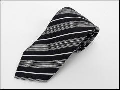◆礼装◆高級モーニング用ネクタイ◇黒◇絹100%◇メール便可 ACC4-11