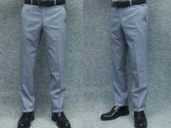 日本製 ★スリム★ノータック スラックス☆千鳥格子 クールビズ☆尾州産スーツ生地使用 丸洗い可能★ビジネスパンツ W70〜94cm
