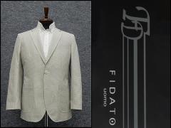 春夏物ジャケット[FIDATO] 薄オリーブ/小格子 [A体]〜[AB体]仕様 ★g-stage★ ジーステージ