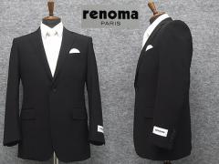 [renoma] レノマPARIS セミスタイリッシュ 通年 スマートフォーマル シングル2釦 ノータック  [YA体][A体][AB体][BB体]
