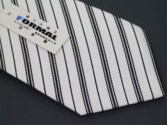 ◆礼装◆高級モーニング用ネクタイ◇白◇絹100% 日本製◇メール便選択可能 ACC5