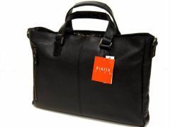 ◆BLAZER CLUB◆本革ビジネストートバッグ◆黒◆軽量 日本製
