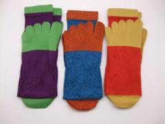 靴下 5本指靴下 3足組 働く靴下 のばのば(99383-3nova)