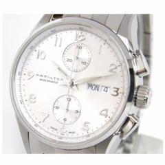ハミルトン HAMILTON 時計 自動巻 ジャズマスターアエストロクロノ H32576 シルバー盤 SS【中古】(32254)
