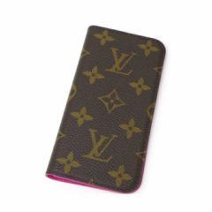 【新品】ルイ・ヴィトン iPhone7ケース M61906 ローズ スマホケース アイフォンケース  iPhone8対応(37608)