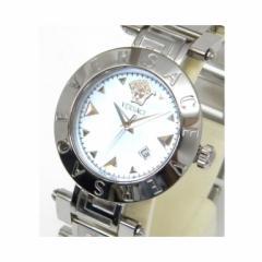 ヴェルサーチ VERSACE メンズウォッチ 腕時計 Reve レーヴ クオーツ XLQ99 水色 /ステンレススチール 【中古】(39555)