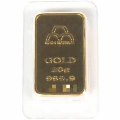 日本マテリアル NIHON MATERIARL 純金 インゴット 20g 24金 ゴールドバー ingot(38025)(39025)