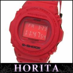 CASIO メンズウォッチ 腕時計 G-SHOCK クオーツ 35周年記念限定モデル レッドアウト DW-5735C-4JR【中古】(42184)