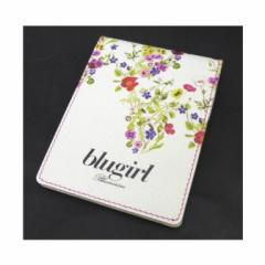 ブルーガール BLUGIRL 手帳 メモ帳 ボールペン付き 花柄(42781)