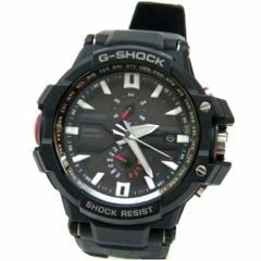 カシオ メンズウォッチ 腕時計 G-SHOCK ソーラー電波 GW-A1000 黒 【中古】(43391)