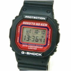 カシオ メンズウォッチ 腕時計 G-SHOCK 北斗の拳 クオーツ 黒 【中古】(43605)