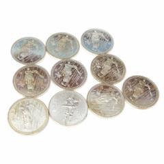 長野オリンピック 記念硬貨 5千円銀貨10枚セット 【中古】(43985)