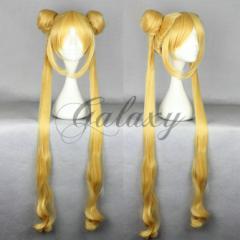 セーラームーン 月野うさぎ プリンセス・セレニティ ゴールド コスプレ ウィッグ  wig-057b(wig-057b)