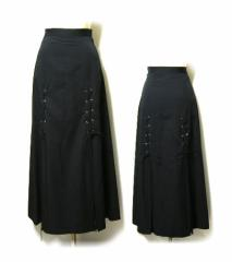 ATLIER BOZ アトリエボズ レースアップ悪魔的スカート (ゴスロリ) 020307