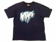 初期 W)TAPS ネイビーロゴTシャツネイビーロゴTシャツ ダブルタップス WTAPS ダブルタップスNEIGHBORHOODネイバーフッド 022237