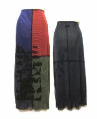 Jean Paul GAULTIER ジャンポールゴルチエ シースルー切替スカート (ゴルチェ) 022675