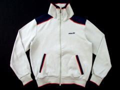西ドイツ製 vintage adidas ユーログレーラインジャージジャケットブルゾン ヴィンテージ アディダス 023990