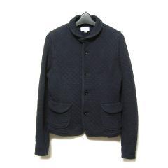 Le glazik「France」紺クラシックキルティングジャケット (ルグラジック ル グラジック) 026715
