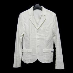LE GLAZIK「France」白マリンガーゼ4Bジャケット (ルグラジック ル グラジック) 026915