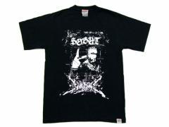 VISION×SOBAT アーティストTシャツ Black artist T-shirt ヴィジョン ビジョンソバット 028845