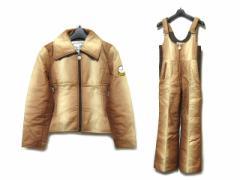 vintage old MONCLER グラデーションダウンジャケット+スキーパンツ gradation down jacket & skiing pants (ヴィンテージ 029613