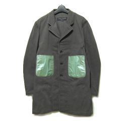COMME des GARCONS HOMME PLUS コムデギャルソン オムプリュス 1994 ワーク期「M」パッチポケットコート (ロングジャケット) 030387