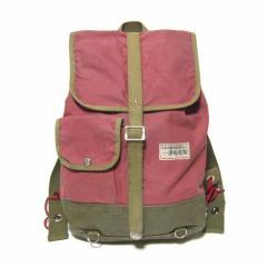 vintage 旧 一澤帆布 貴重 キャンバスマウンテンリュック・バッグ canvas mountain rucksack bag (一澤帆布製 vintage ヴィ 034535