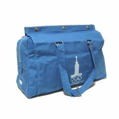 【新品】デッドストック vintage 1980 MOSCOW OLINPICS モスクワオリンピック オフィシャルボストンバッグ (鞄 ヴィンテージ) 035884