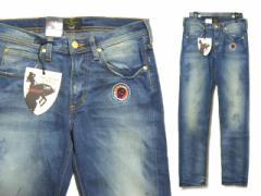 【新品】Anglomania Vivienne Westwood×Lee AUTTHENTIC デニムパンツ scull denim pants (ORB オーブ JEANS MAN マン アング 038758