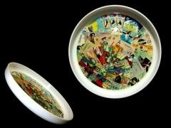 vintage EXPO70 大阪万博 SAPPORO OLYMPIC 札幌オリンピック 歴代宝くじトレー (ヴィンテージ おぼん テーブルウエアー) 039113