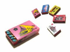 vintage EXPO70 大阪万博 希少 プラスチックマッチBOX「ケース」「太陽の塔」「パビリオン」039251【中古】