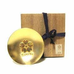 vintage EXPO70 Commemorative gold cupヴィンテージ 大阪万博 記念金杯「24Kメッキ」盃 (エキスポ) 039256【中古】