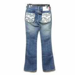EVISU 和花ポケットデニムパンツ「24」flower pockets denim pants (ジーンズ エヴィス エビス) 039406