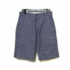 vintage old DANTON FRANCE デニムワークハーフパンツ denim work short pants (ダントン フランス) 040175