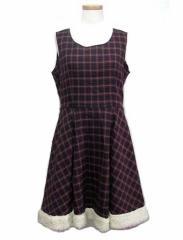 田園詩 タータンチェックプリンセスロリーターワンピース Princess tartan check Lolita dress (ゴスロリ コスプレ ロリータ) 040863