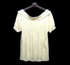 JILL STUART ジルスチュアート「F」アンティークレースカットソー (Tシャツ) 041217