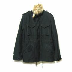 Ouimahr ボアライナー付 M-65 ジャケット・ブルゾン (black M-65 jacket blouson) ウイマール オイマール 041838【中古】