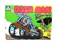 【新品】Vintage70 DASHMAN「made in JAPAN」ゼンマイプラモデル (アオシマ文化教材社 日本製 自動車 ダッシュマン) 045061