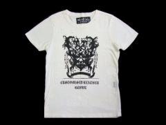Rockers H Baby「h.naoto」悪魔的「バイカー」トライバルTシャツ (ロッカーズエイチベイビー エイチナオト) 045174