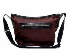 Ys ACCS Yohji Yamamoto ナイロン×レザーショルダーバッグ (Nylon x leather shoulder bag) イザック ヨウジヤマモト Ys for 046217