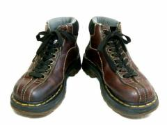vintage Dr.Martens「UK4」生産終了英国製9ホールマウンテンレザーブーツ (9 Hole Mountain Leather Boots) ヴィンテージ 046393